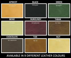 Leather Sofa Colours by Model Name Venice 100 Bonded Italian Leather And Ross Fabric