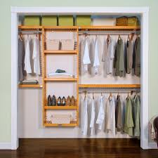 solid wood closet organizer l john louis home