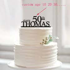 50th wedding anniversary cake topper happy 50th birthday cake topper 50th anniversary cake topper