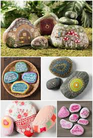 Painted Rocks For Garden by 10 Painted Rocks Kindness Rocks Projects Mod Podge Rocks