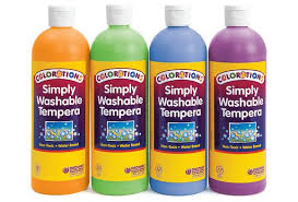 colorations simply washable tempera paints cool colors 16 oz