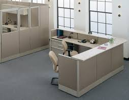 Free Standing Reception Desk Personal Computer And Office Desks From Marvel