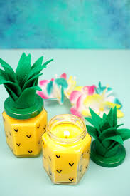 pineapple easy diy pineapple candles happiness is homemade