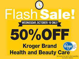 flash sale at king soopers 50 health and products wed
