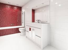 bathroom feature tiling examples