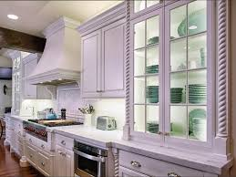 Kitchen Cabinet Glass Door Design kitchen brown wooden small cabinets with transparent glass doors