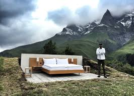 null stern u0027s hotel with no walls has panoramic views of the swiss alps