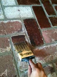 staining old concrete patio how to update a brick fireplace ask anna