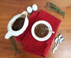 turkey gravy with porcini mushrooms savory mushroom and thyme gravy cherry on my sundae