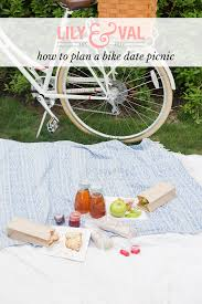 bike date how to plan a picnic on the go lily u0026 val living