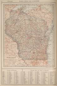 Southeast Wisconsin Map by Maps From The New Encyclopedia Atlas And Gazetter Perry