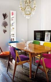 Colorful Dining Room by Retro Dining Room Designs That You Can Copy