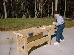 How To Build A Bench Vise Workbench Woodworking Wikipedia