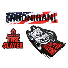 hoonigan racing logo hoonigan holiday 2015 sticker pack merch2rock alternative clothing
