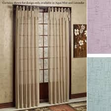 Tie Top Curtains Danburry Tie Top Semi Sheer Curtains By