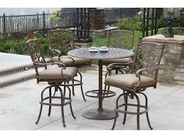 Patio Furniture Sets Bjs - darlee outdoor living series 60 cast aluminum 30 round bar table