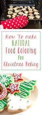 how to make natural food coloring for christmas baking recept