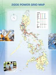Grid Map Map Of Philippine Electricity Grid Philippines National Energy