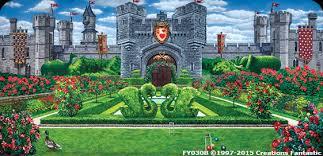 Castle Backdrop Fairy Tale Castle 1c Backdrops Fantastic Australia