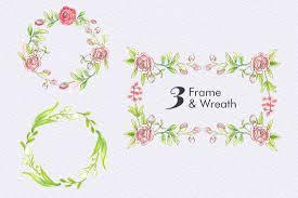 pink roses floral elements free sample free design resources
