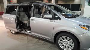 sienna toyota sienna 2017 is the minivan for those who minivans