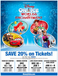 discount tickets to disney on coming to southern calif