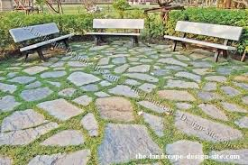 Patio Flagstone Designs Fit Flagstone Patio Floor