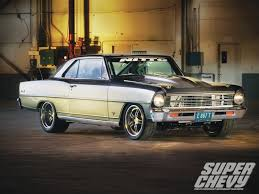 lowered muscle cars church boys racing 1967 chevy nova super chevy magazine