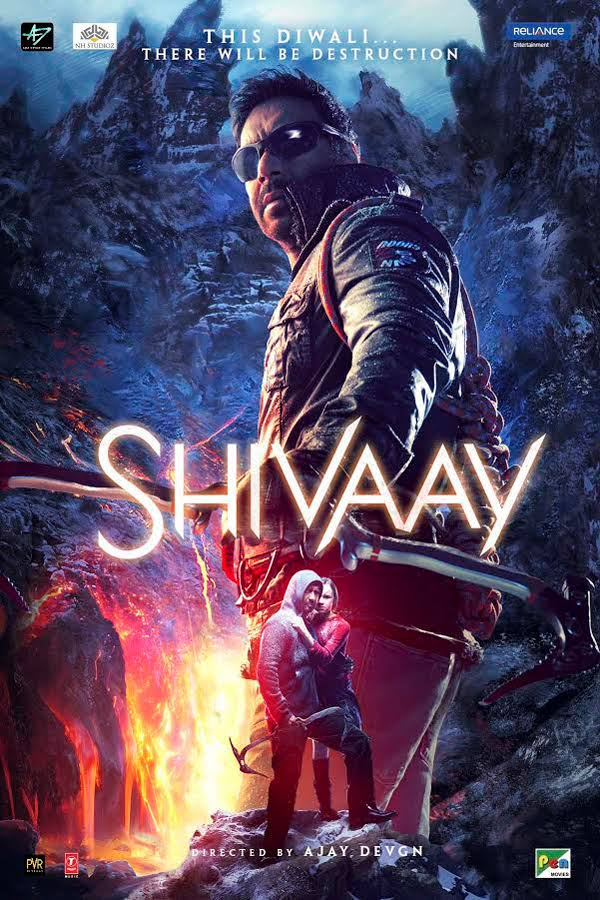 Shivaay 2016 Hindi 720p DvDScr x264 AAC – 1.5GB