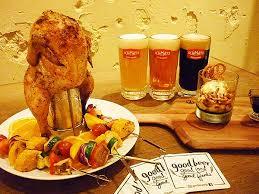 hygi鈩e en cuisine 夏限定 ドイツの生ビールと楽しむ豪快チキン料理 時事ドットコム