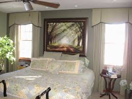 window fashions this master bedroom had a soft sage green paint on