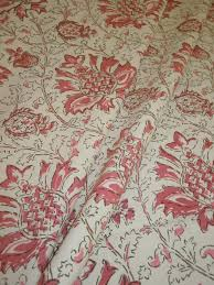 laura u0026 kiran pattern kashmir color rose hand printedl decor fabric