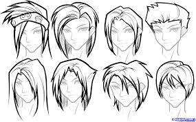how to draw hairstyles step 14 how to draw hair for boys drawing