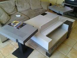 Nintendo Controller Coffee Table Nintendo Nos Coffee Table And Side Tables End Tables Cartridges