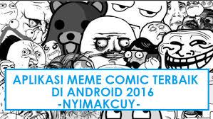 Cara Membuat Meme Comic - 5 aplikasi untuk membuat meme comic di android