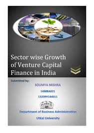 sectorwise growth in venture capital finance in india by soumya mish u2026