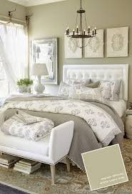 bedrooms wallpaper make a room look larger large bed small