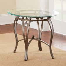 glass top end tables metal hammary sutton rectangular glass top end table hayneedle