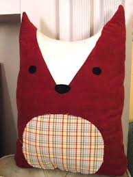 hello refabulous christmas crafting part 2 diy fox pillow