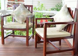 Solid Wood Patio Furniture by Garden Balcony Wooden Lounge Chair Solid Wood Outdoor Furniture
