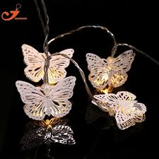 white string lights white metal butterfly lighting fish led white string lights fairy