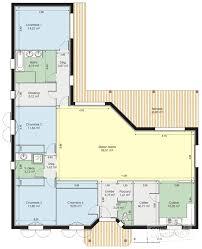 plan de maison de plain pied avec 4 chambres stunning maison de luxe plan images doztopo us doztopo us avec plan