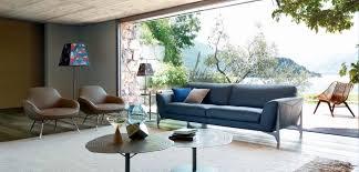 photo de canapé r eacute flexion grand canapé 3 places roche bobois