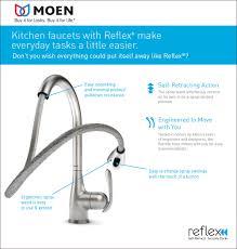 pull out spray kitchen faucet repair moen kitchen faucet handle repair lovely moen aberdeen single