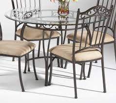 Modern Dining Table Design With Glass Top Furniture Home Rustic Wooden Base Dining Table And Chairs With