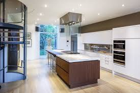 Ottawa Kitchen Design Downsview Kitchens For A Contemporary Kitchen With A Glass Stairs