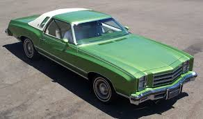 chevy vega green 1976 chevrolet monte carlo landau colonnade mid size cars 1973