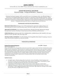 Resume Format For Mechanical Mechanical Engineer Resume Sample Doc U2013 Topshoppingnetwork Com