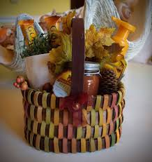sold gift basket fall family and friends apple brown betty