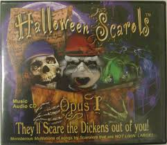 halloween music cd big scream halloween scarols opus i cd by fitco halloween costumes